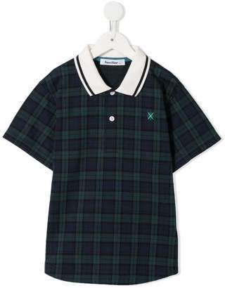 Familiar check polo shirt