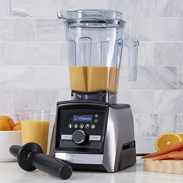 Crate & Barrel Vitamix ® A3500 Brushed Stainless Steel Blender
