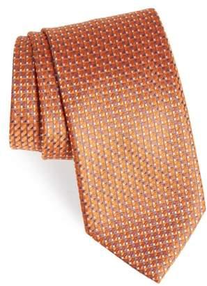 Brioni Neat Geometric Silk Tie