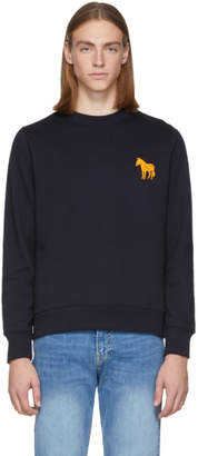 Paul Smith Navy Zebra Sweatshirt