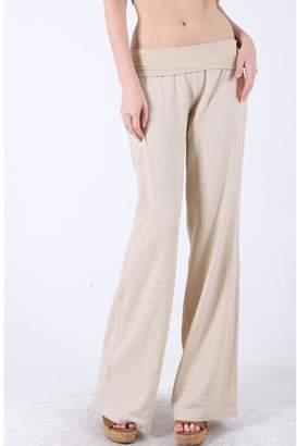 Love Tree Khaki Linen Pants