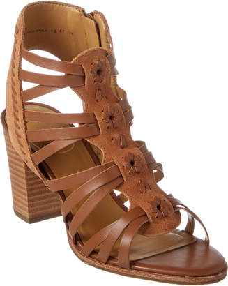 Jack Rogers Hadley Leather & Suede Sandal