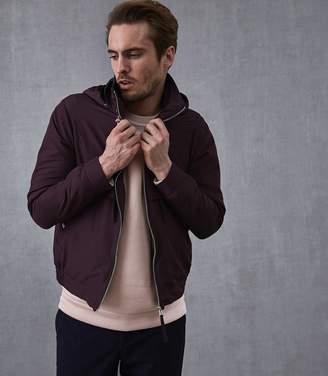 Reiss Bennette Hooded Short Jacket