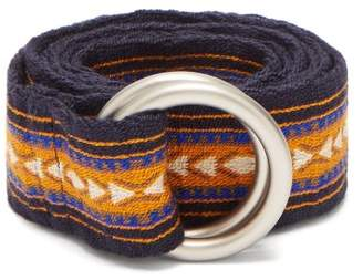 Guanabana - Patterned Woven Belt - Mens - Multi