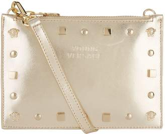 Versace Studded Clutch Bag