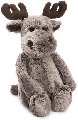 Jellycat Marty Moose Medium Stuffed Animal, Brown