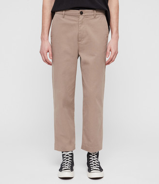 AllSaints Muro Cropped Tapered Chinos