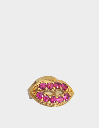 At Monnier Frères Marc Jacobs Lips Single Stud