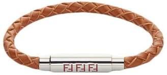 Fendi woven logo bracelet