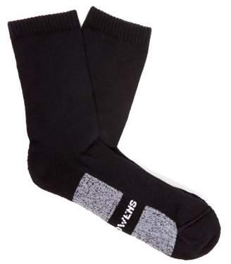 Rick Owens Wool Blend Ankle Socks - Mens - Black