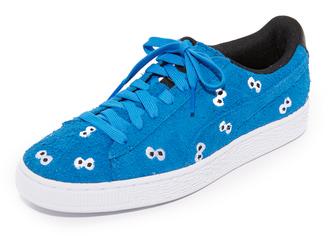 PUMA x SESAME STREET Suede Sneakers $105 thestylecure.com
