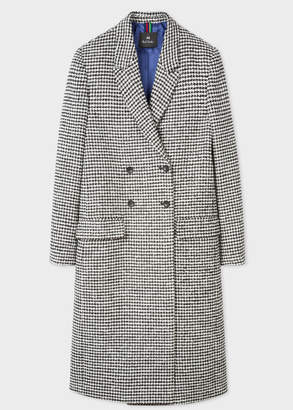 Paul Smith Women's Dogtooth Wool-Blend Double-Breasted Coat