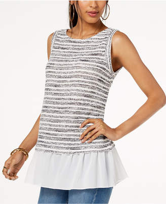 INC International Concepts I.N.C. Layered-Look Top, Created for Macy's