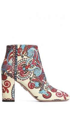 Aquazzura Cloth ankle boots