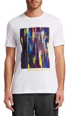 Saks Fifth Avenue x Anthony Davis EXCLUSIVELY OURS Square Multicolor Graphic T-Shirt