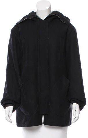 Miu MiuMiu Miu Hooded Short Coat