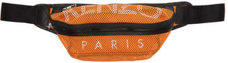 Kenzo Orange Mesh Logo Belt Bag