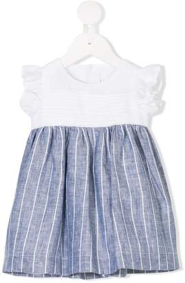Il Gufo pinstriped dress