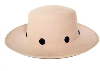 Justine Hats Felt Boater Hat