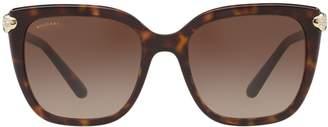 Bvlgari Square Snake Sunglasses