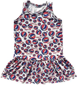 Rowdy Sprout Grateful Dead Rayon Print Tank Dress - Size 12-18 month