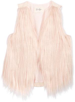 Jessica Simpson Faux-Fur Front Vest, Big Girls (7-16) $59.50 thestylecure.com