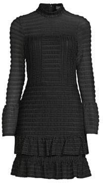 Parker Topanga Ruffled Sheath Dress