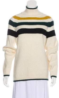 Closed Alpaca-Blend Striped Sweater