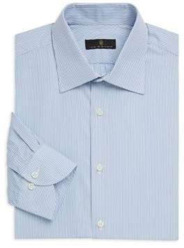 Ike Behar Contemporary-Fit Stripe Dress Shirt
