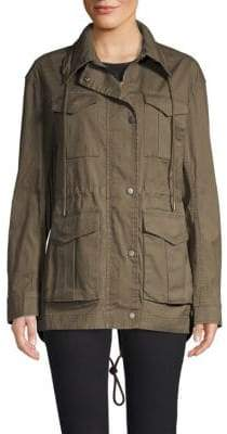 ATM Anthony Thomas Melillo Enzyme Wash Utilitarian Field Jacket