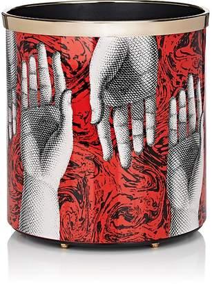 Fornasetti Hand-Motif Wastebasket