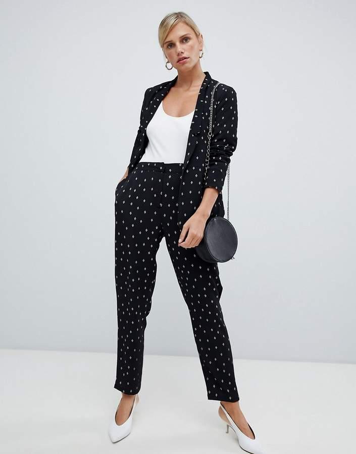 spot suit trousers