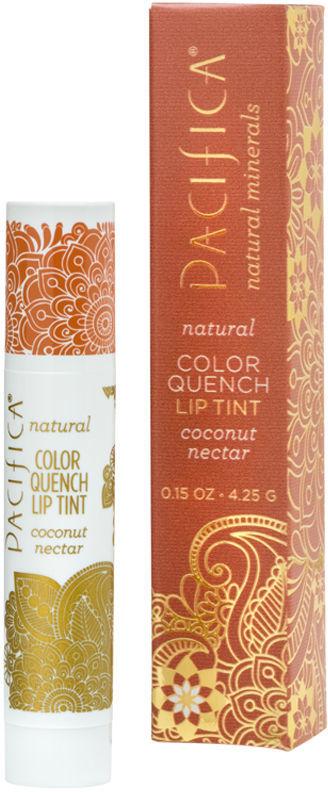 Pacifica Color Quench Lip Tint, Vanilla Hibiscus 0.15 oz (4.4 ml)