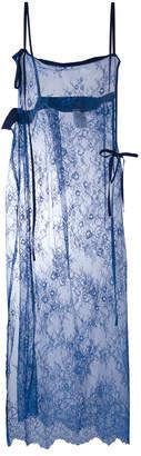 Y's lace coat dress