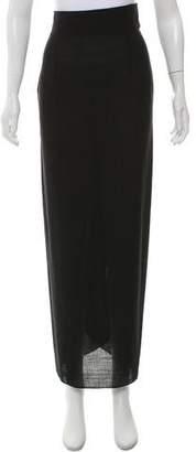 Chloé Maxi Wrap Skirt
