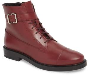 Tod's Buckle Strap Combat Boot