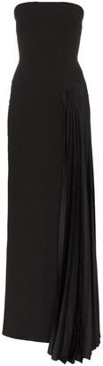 SOLACE London Dolly strapless maxi dress