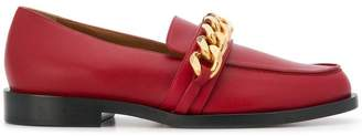 Givenchy chain trim loafers