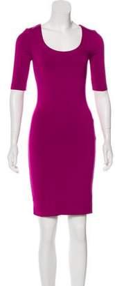 Diane von Furstenberg Raquel Scoop Neck Dress w/ Tags