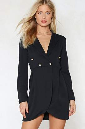Nasty Gal Desperately Seeking Susan Blazer Dress