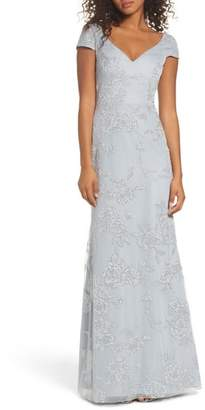 Paige Hayley Occasions Beaded Trumpet Gown