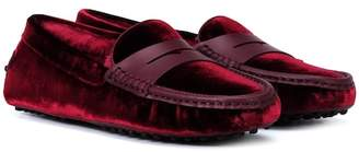 Tod's Exclusive to Mytheresa – Gommino velvet loafers