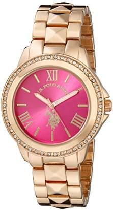 U.S. Polo Assn. Women's USC40080 Rose Gold-Tone Bracelet Watch