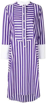Maison Rabih Kayrouz multi-stripe shirt dress