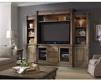 "Hooker Furniture Sorella Entertainment Center for TVs up to 70"""