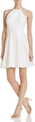 Aqua Lace-Back Scuba Dress - 100% Exclusive