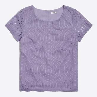 J.Crew Factory Lace T-shirt