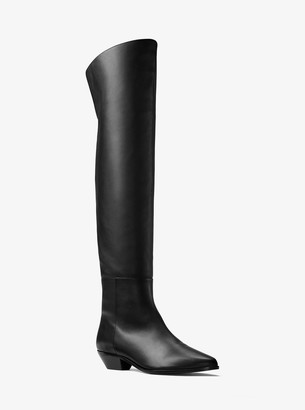 Michael Kors Shelby Calf Leather Boot