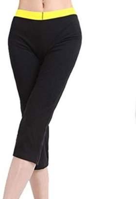 ONLINE Women's Hot Thermo Sauna Waist Trainer Body Shaper Neoprene Pants