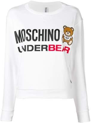 Moschino Underbear print sweatshirt